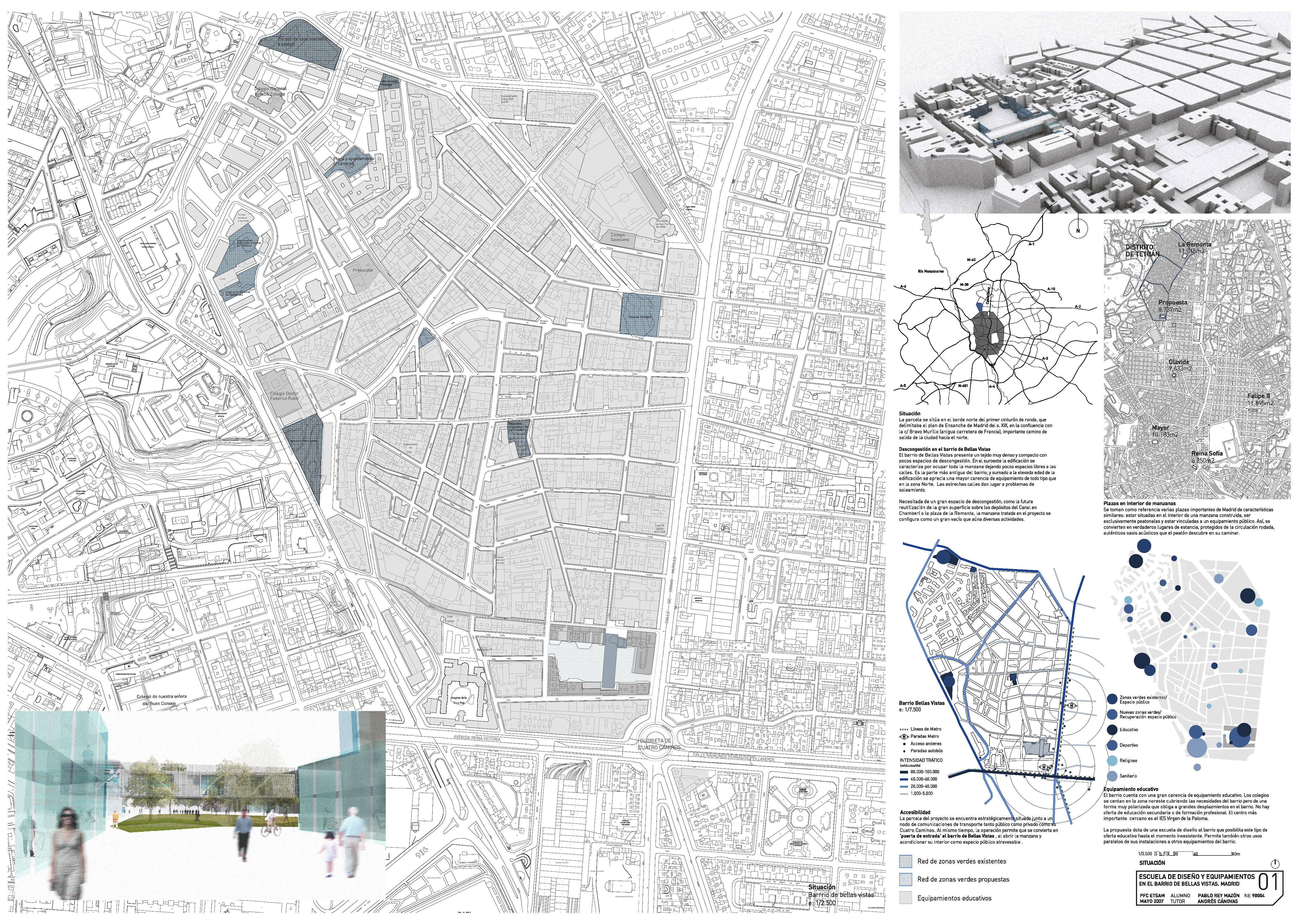 Pfc prm 2006 2007 4cm for Planos de arquitectura pdf