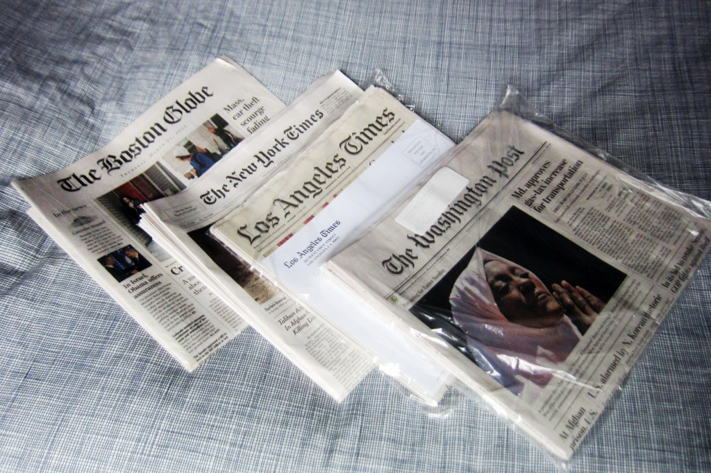 4-newspapers-at-home