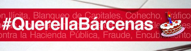 Un año #querellabarcenas