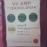 Cartel exposición Teknologia en Okela