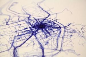 El mapa impreso del curso 2013-2014