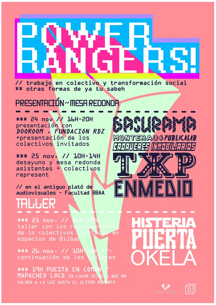 Jornadas Power Ranger de Dooroom