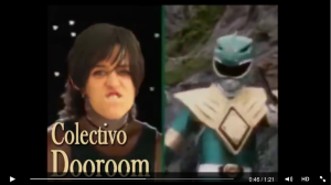 Vídeo Power Ranger de Dooroom