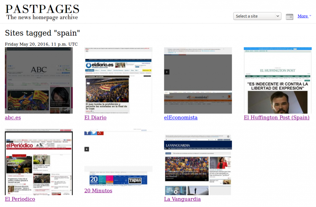 pastpages-for-spanish-newspapers