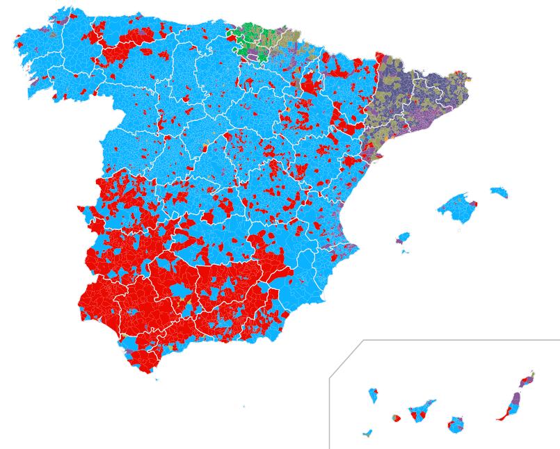 Mapa de elecciones generales 2015. 20D en El País http://elpais.com/elpais/2015/12/18/media/1450461184_895079.html